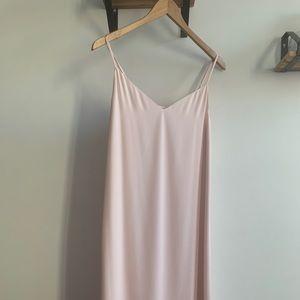 Blush Pink Slip Dress